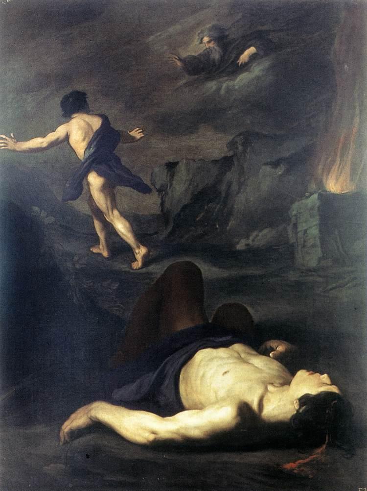 Pietro_Novelli (1603-1647)_-_Cain_and_Abel_-Galleria Nazionale d'Arte Antica, Roma